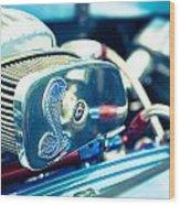 Engine Detail Wood Print