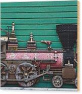Engine Number 23 Unframed Wood Print