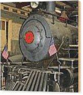 Engine Number Eight Wood Print