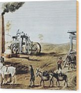 England 18th C.. Industrial Revolution Wood Print by Everett