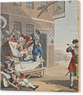 England, Illustration From Hogarth Wood Print