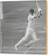 England V Australia At Lords Wood Print