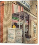 Englewood Cleaners 4540 Wood Print