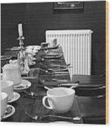 English Breakfast Wood Print