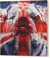 English Bull Dog Wood Print