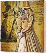 English Bulldog Art Canvas Print  Wood Print