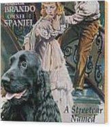 English Cocker Spaniel Art - A Streetcar Named Desire Wood Print