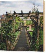 English Country Gardens - Series IIi Wood Print