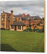 English Country Gardens - Series Vi Wood Print