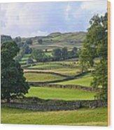 English Countryside Wood Print