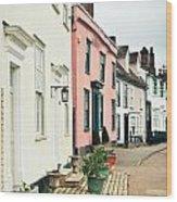 English Houses Wood Print