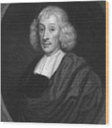 English Naturalist John Ray Wood Print