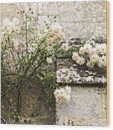 English Roses II Wood Print