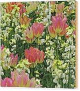 English Spring Wood Print