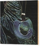 Enigma Wood Print by Jenny Rainbow