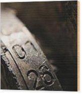 Enigma Numbers Wood Print