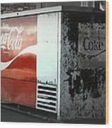 Enjoy Coca Cola  Wood Print