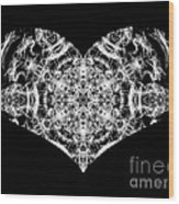 Enlightened Heart Wood Print