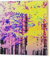 Enlightened Woods Are Here Again Ready To Surprise You  Wood Print