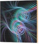 Enlightening Rhythm Wood Print