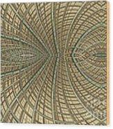 Enmeshed Wood Print