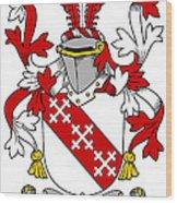 Enright Coat Of Arms Irish Wood Print
