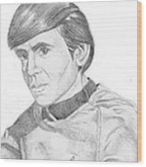 Ensign Pavel Chekov Wood Print