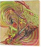 Entanglement Of Life Wood Print