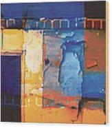 Enter Wood Print by The Art of Marsha Charlebois