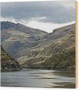 Enter The Snake River Canyon Wood Print