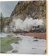 Entering Cascade Canyon Wood Print