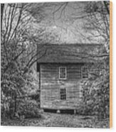 Entering Mingus Mill Wood Print
