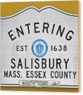 Entering Salisbury Wood Print