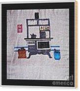 Enterprise Woodstove - Grey Wood Print