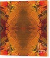 Entertaining Energy Abstract Pattern Artwork By Omaste Witkowski Wood Print