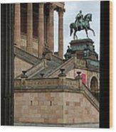 Entrance Old National Gallery Berlin Wood Print