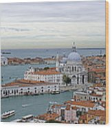 Entrance To Grand Canal Venice Wood Print