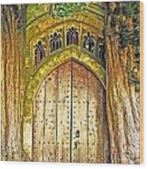Entrance To Middle Earth Wood Print