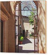 Entrances Wood Print