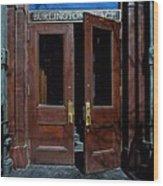 Entry - Burlington Place - Omaha Wood Print