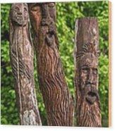 Ents  Wood Print by Steve Harrington