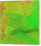 Envision Emerald Green Wood Print