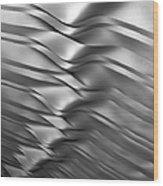 Eolian Silver Wood Print