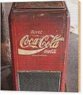 Epcot Old Coke Wood Print