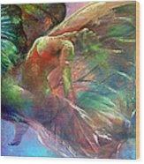Ephemeral Life Wood Print