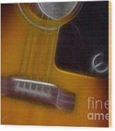 Epiphone Acoustic-9429-fractal Wood Print