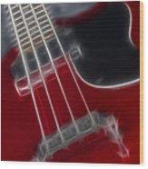Epiphone Sg Bass-9241-fractal Wood Print