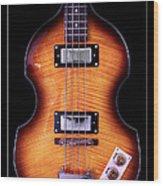 Epiphone Viola Bass Guitar Wood Print