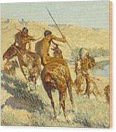 Episode Of The Buffalo Gun Wood Print