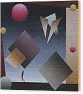 Equilibrio En El Circo Wood Print